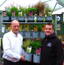 Chapel Cottage Plants takes delivery of new Desch recyclable pot