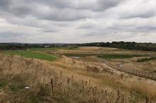 How was contaminated land transformed at The Avenue in Chesterfield?
