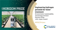 Water treatment method wins Royal Society of Chemistry prize