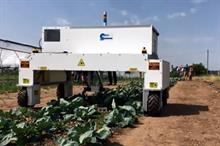 UK crop robot targets herbicide application while maintaining yield