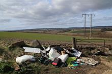 Landowners report increase in large-scale fly-tipping during the pandemic