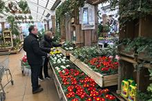 Garden centres fight challenging bad weather and coronavirus