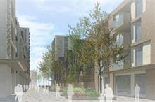 """Significant landscaped boulevard"" part of regeneration plan enhancing Harlow town centre environment"