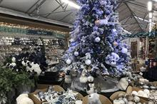 Garden centre Christmas displays 2020 - photo tours