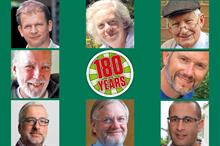 What have been some of the highlights from 180 years of Horticulture Week?