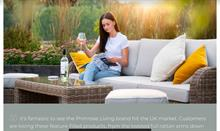 Primrose Living online garden furniture offer sells strongly