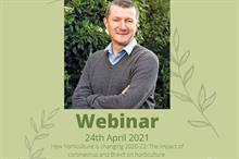 Horticulture Week editor to give James Bruce Memorial Lecture