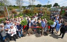 """Display garden offering ideas for garden design and """"brightening borders"""" opened at Notcutts centre"""