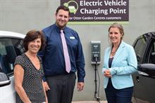 Otter Garden Centres adds car charging points