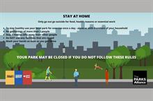 Parks Alliance advice to opening parks safely