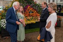 Poppins Patio Mums gain royal attention at RHS Chelsea Flower Show