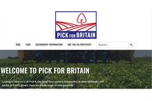 British workers asked to 'Pick for Britain'