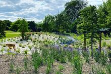 How are new garden-style beds improving the golf course at Roehampton Club?