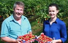 Tesco latest quarterly results as strawberry surplus snapped up