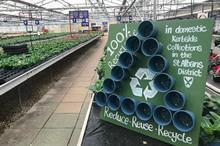 Industry body aims to encourage councils to recycle plastic plant pots from the kerbside