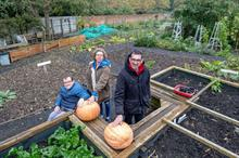 Muddy Boots Gardening Group expands community garden at Quarr Abbey