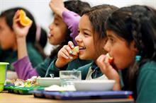 What role can UK fresh produce play in addressing childhood obesity?