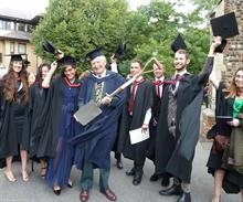 Seabrook presented with Writtle honorary degree