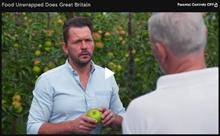 Channel 4 visits Fourayes Bramley apple orchard
