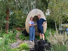 Yeo Valley wins People's Choice at RHS Chelsea Flower Show for first organic garden