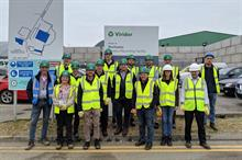 Nursery working group visits recycling plant