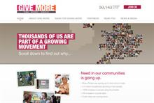 Give More philanthropy drive was a 'difficult sell' to the sector, report says