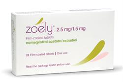 Zoely: combined oral contraceptive containing new progestogen
