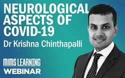 Learn about neurological aspects of 'long COVID' at a MIMS Learning webinar