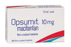 Opsumit: endothelin receptor antagonist for pulmonary hypertension