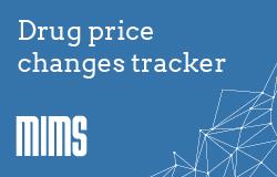 Drug price changes - live tracker
