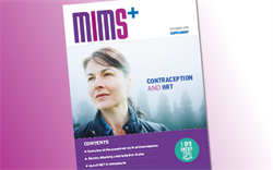 MIMS supplement on contraception and HRT