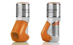 Fluticasone/formoterol asthma combination available in new device