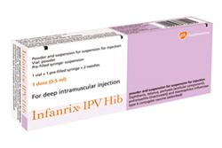 New vaccines for immunisation schedule: Boostrix-IPV and Infanrix-IPV+Hib