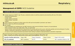 Quick-reference MIMS COPD prescribing resources updated