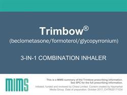 Product Slides: 3-in-1 combination inhaler