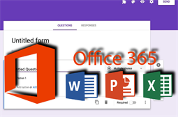 Beware of Google Docs forms asking for Office 365 updates