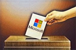Microsoft demos vote verification tool, warns of ongoing foreign meddling