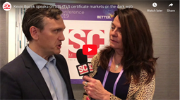SSL/TLS certificate markets boom on dark web (video)