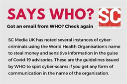 Got an email from WHO? Check again