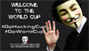 Anonymous fells World Cup websites