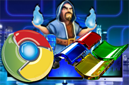 Hackers used flaws in Chrome and Windows to install malware