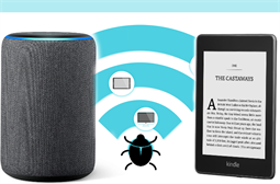 Amazon Echo and Kindle devices harbour WiFi bug, patch issued