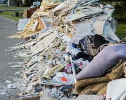 Fly-tippers target the 'filthy rich'