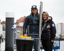 Floating bin is world first