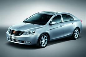 Geely: unveils UK launch plans