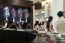 The Magnum dipping bar is currently open at Selfridges