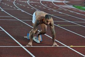 James Ellington: sprinter has put himself on eBay to seek Olympics sponsorship