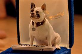 Wall's: dog mascot duets with Jason Donovan