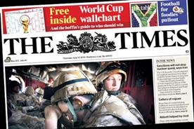 The Times: Free World Cup wall chart