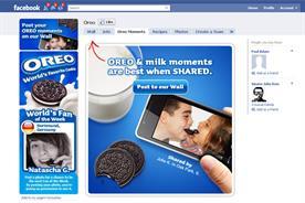 Oreo: looks to set Facebook record
